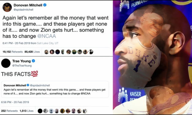 NBA PLAYERS SHARE THE BLAME FOR ZION NCAA HOSTAGE CRISIS