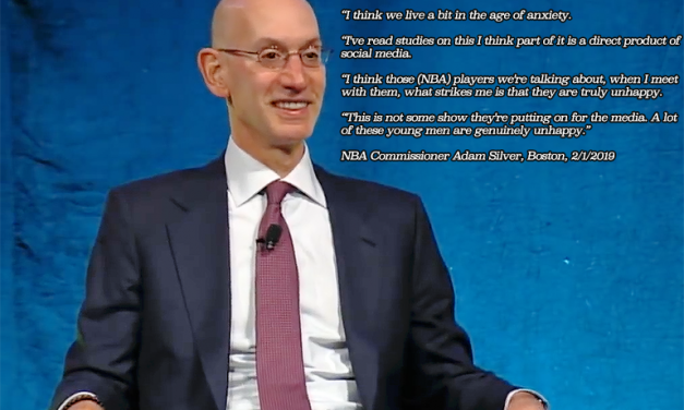 NBA COMMISH CLAIMS SOCIAL MEDIA MAKES PLAYERS UNHAPPY