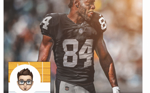 ANTONIO BROWN'S RAIDER IMAGE CREATED DAY IN ADVANCE