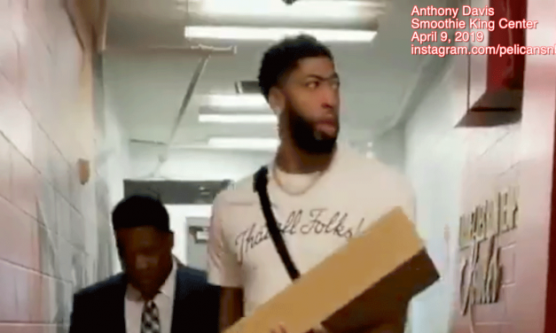 WHY ANTHONY DAVIS PROBABLY THINKS WE BELIEVE HIS DECEIT