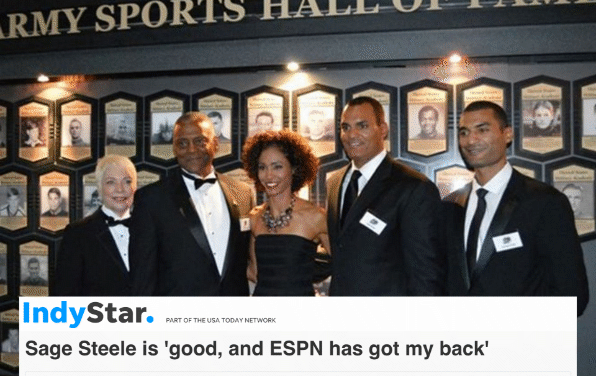ESPN OBEYS MASTERS: PLANS TO BAN PIONEERING BLACK ANCHOR