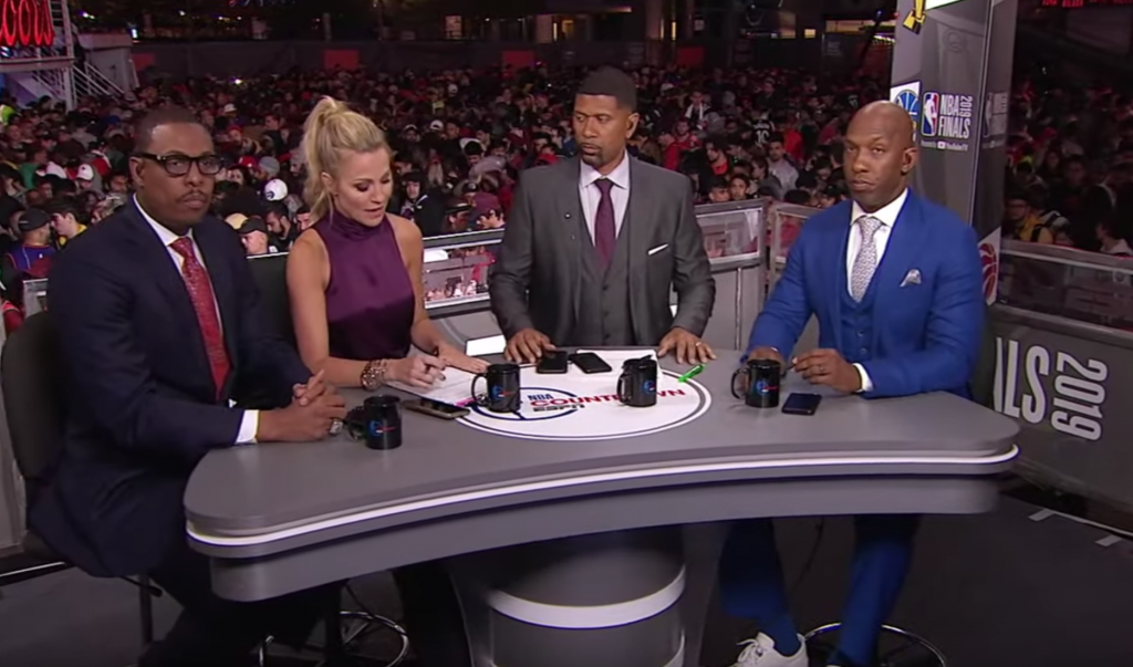 SOURCES: BEADLE, PIERCE, BILLUPS OUT AT ESPN'S