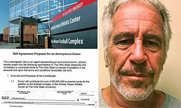 PEDOPHILE DONATED MILLIONS TO BUCKEYE FOOTBALL COMPLEX